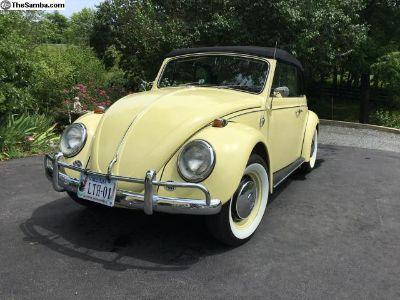 1967 Karman Volkswagen Beetle-Classic Convertible