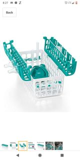 OXO dishwasher basket Teal