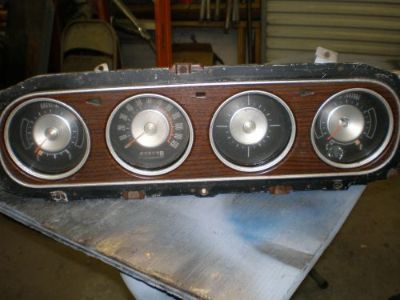 Purchase 1969 MERCURY COUGAR DASH GAUGE CLUSTER motorcycle in Baltic, Connecticut, United States, for US $40.00