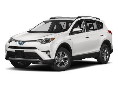 2018 Toyota RAV4 Hybrid XLE Hybrid AWD (Super White)