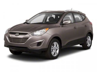 2012 Hyundai Tucson Limited (Diamond Silver)