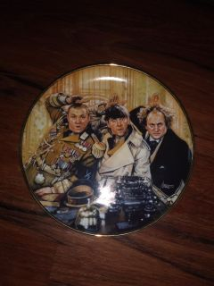 The three stooges collectible plate