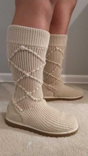 UGG sz10 sweater boots