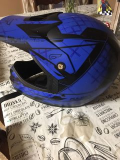 Youth Medium motorcycle 4 wheeler helmet