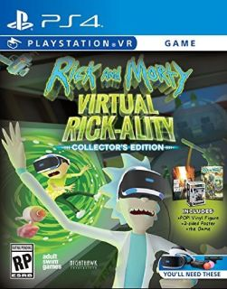 Fully voiced, 3D Rick and Morty goodness  Help Rick (or don't) and explore multiple strange dimensio