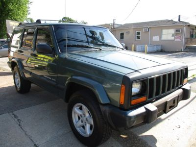 2000 Jeep Cherokee Sport (Green)