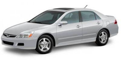 2007 Honda Accord Hybrid (Gray)
