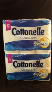 Two! 12 packs of Cottonelle Toilet Paper