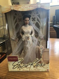 New Mattel Erica Kane Champagne Lace Wedding Barbie Doll - New in Box - 1999