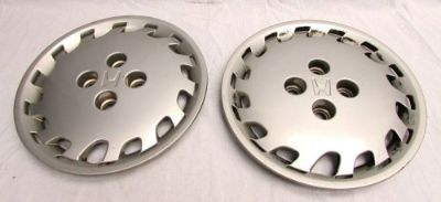 Buy 1992-2000 Honda Civic Hubcaps set of 2 wheel cover 44733-SR1-9600-A600 motorcycle in Hixson, Tennessee, United States, for US $24.99