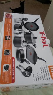 T-FAL 14 pc with Lifetime Guarantee
