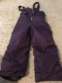 Cherokee purple snow suit 4t (worked for 5t for us too)