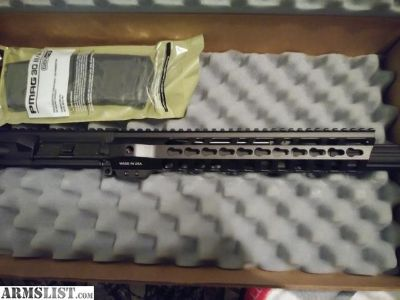 For Trade: Ar 15 complete upper vortex red dot and 5 pmag trade for glock 43 or 26