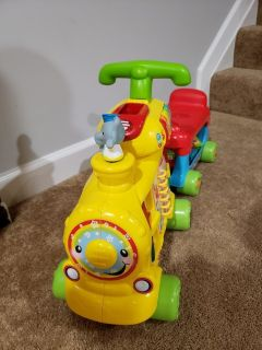 Vtech Alphabet Train Sit or Ride