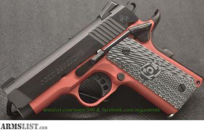 For Sale: BRAND NEW Colt Defender in 9mm, Law Enforcement Only
