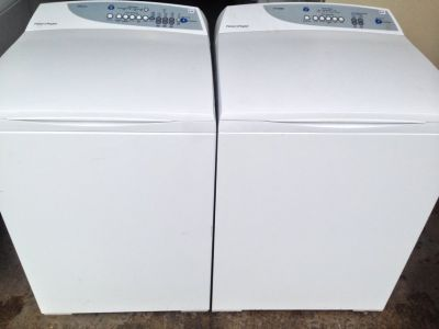 Fisher and Peykel Washer and Dryer Set