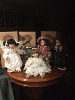 Collectable dolls.