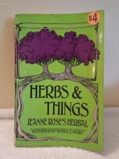 Herbs and Things Book