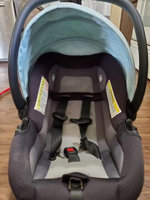 Mint Blue Safty 1st Car seat, gently used