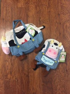 Mooey Louie bag and backpack