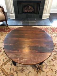 Antique Reclaimed Wood Coffee Table