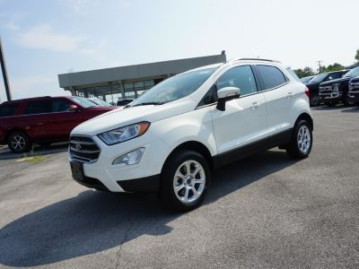2018 Ford EcoSport SE (Diamond White)