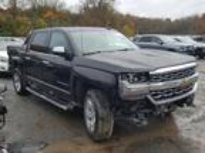 Salvage 2018 CHEVROLET SILVERADO LTZ for Sale
