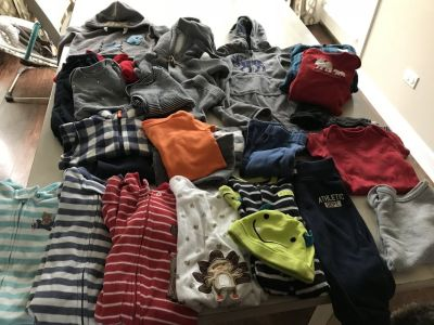 Lot of 9 month Boy clothes