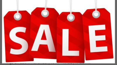 Cleaning sale - everything is priced as marked - sale will be till Thursday 10/25 then prices will go back up
