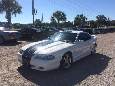 1996 Ford Mustang GT (White)