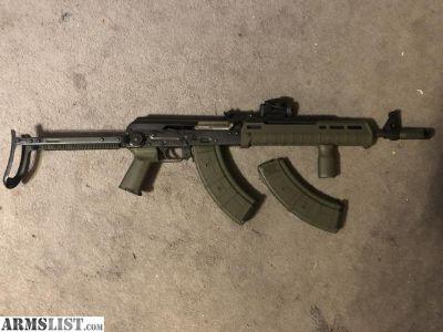 For Sale: Zastava NPAP Yugo AK47 folding stock