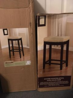 Allure bar and counter stools