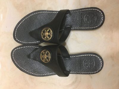 Tory Burch Black Sandals size 6 1/2