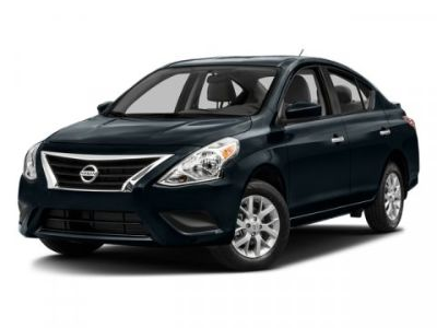 2017 Nissan Versa 1.6 S (Super Black)