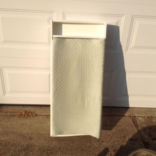 Changing table dresser top with pad