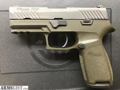 For Sale: Sig Sauer P320 Carry 9mm OD Green 10+1
