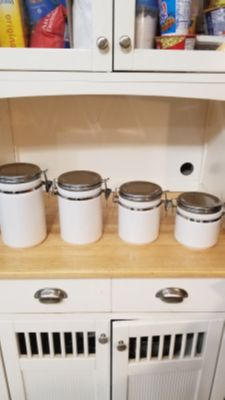 Nice White Canister Set