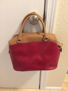Like New Gianni Notaro Purse - Genuine Leather - Made In Italy.