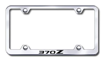 Sell Nissan 370Z Wide Body Engraved Chrome License Plate Frame -Metal Made in USA G motorcycle in San Tan Valley, Arizona, US, for US $30.98