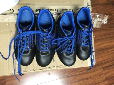 Youth size 4 soccer cleats