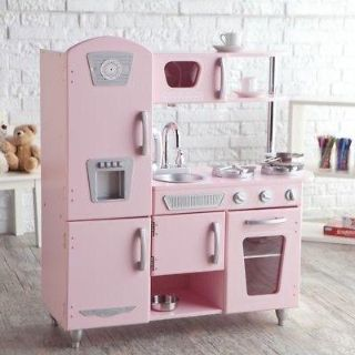 Awesome pink kitchen!