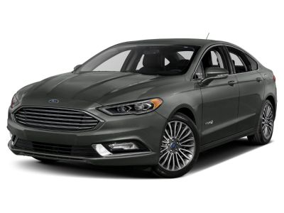 2018 Ford Fusion Hybrid Titanium (Oxford White)