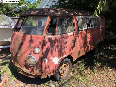 1964 VW Sundial Bus with title