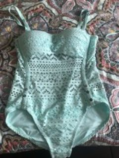 Teal Bathing Suit size 12