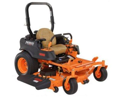 2018 SCAG Power Equipment Patriot (SPZ61-23FX) Commercial Mowers Lawn Mowers Francis Creek, WI