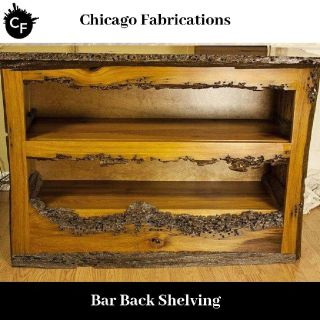 Find great deals on Chicago Fabrications for Bar Back Shelving