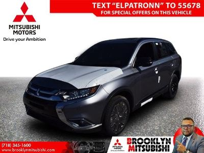 2018 Mitsubishi Outlander ES (Gray Metallic)