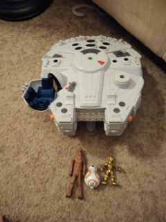 Star wars play set and figures
