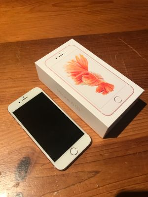 Rose Gold 32GB iPhone 6S for sale