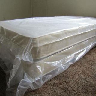 Twin Mattress With Boxspring *Low-Cost Delivery, All Sizes Available